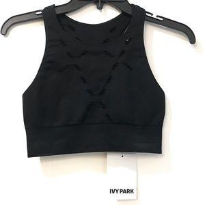 Closet Clear Out ❗️ BNWT Ivy Park Black Sports Bra